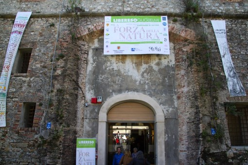 'La Forza della Natura' al Forte di Santa Tecla a Sanremo