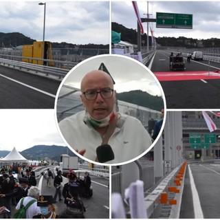 Aspettando l'inaugurazione del ponte San Giorgio, le emozioni e voci da Genova (Live)