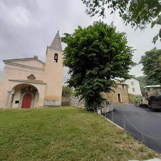 Aurigo: completati i lavori di messa in sicurezza delle strade che portano ai Santuari Sant'Andrea e San Paolo (Foto)