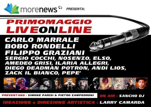 LiveOnLine: dalle 18.30 live su SanremoNews il concerto del Primo Maggio, nel cast tre protagonisti del Festival di Sanremo