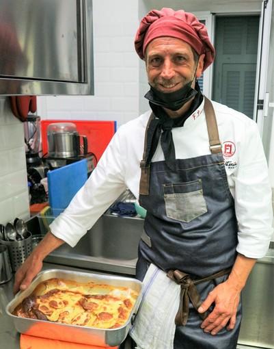 Lo chef Federico Lanteri ha riaperto il suo ristorante a Pigna (IM). Tutte le novità.