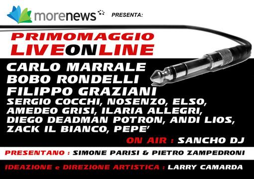 LiveOnLine: il concerto del Primo Maggio in diretta su tutti i giornali del gruppo MoreNews (Video)