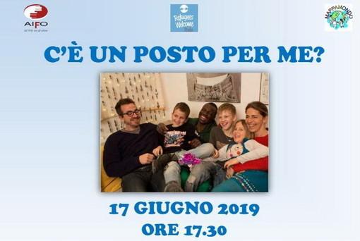 San Bartolomeo al Mare: lunedì prossimo l'evento 'C'è un posto per me?', promosso dall'associazione 'Refugee Welcome Imperia'