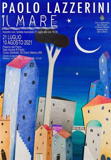 Diano Marina: a Palazzo del Parco continua la mostra di Paolo Lazzerini dedicata al tema de 'Il mare'