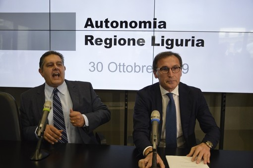 Il Ministro Francesco Boccia a Genova per parlare di autonomia regionale con il presidente Giovanni Toti (Foto e Video)