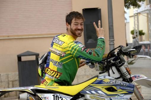 Maurizio Gerini sorride