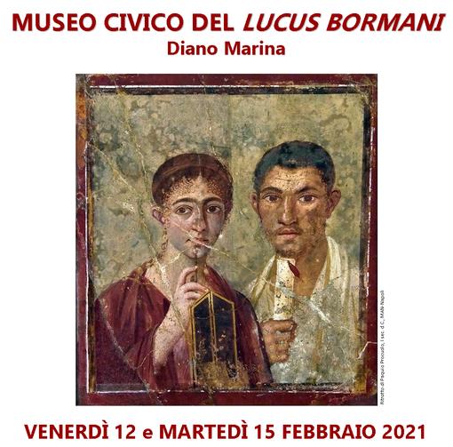 Diano Marina: al Museo Civico del Lucus Bormani, ingresso gratuito per le coppie nel giorno di San Valentino