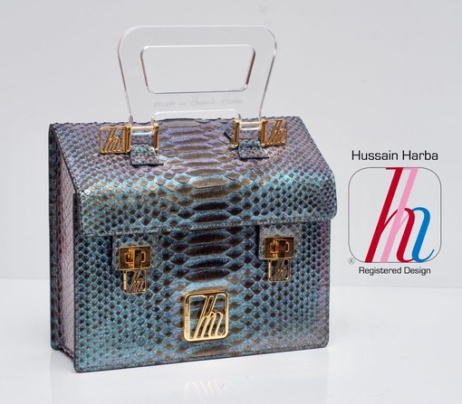 Mini-Home: le borse Made in Italy del designer iracheno Hussain Harba