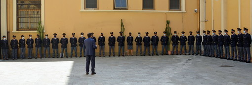 Imperia: ecco i 29 nuovi agenti in forza alla Polizia nella nostra provincia, il saluto del Questore