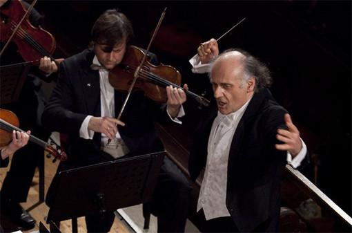 Il M° Nurhan Arman al teatro dell'Opera del Casinò di Sanremo