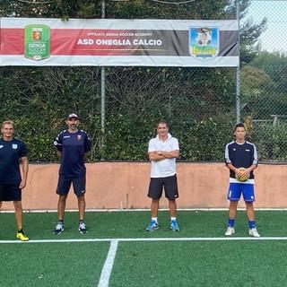 Calcio: domani al campo 'Sacra Famiglia' nuovo appuntamento per i giovani dell'Oneglia con un tecnico del Genoa