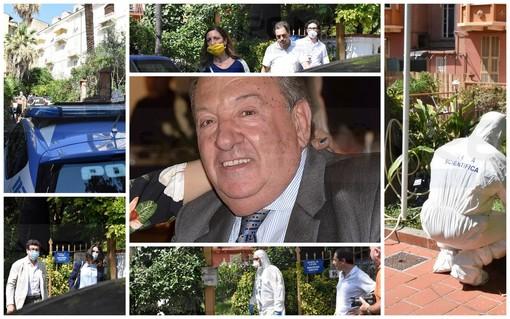 Sanremo: omicidio questa notte in Corso Garibaldi. Luciano Amoretti, 75 anni, è stato colpito alla testa con un vaso. Indaga la Polizia (Foto e video)