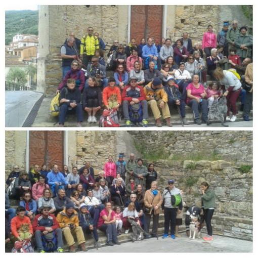 Grande successo domenica scorsa per la 2° edizione della 'Passeggiata tra i borghi' a Pontedassio (Foto)