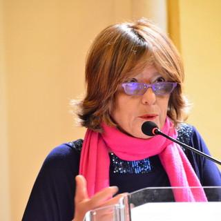 La giornalista Laura Guglielmi ospite della rassegna 'Magicamente... la Pigna' presso l'ex oratorio di Santa Brigida