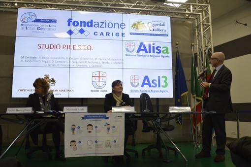 Genova: presentati questa mattina i risultati della campagna contro l'ictus P.R.E.S.T.O. (Video)