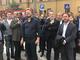 Il presidente del Consiglio regionale Alessandro Piana incontra gli sfollati in seguito al crollo del ponte Morandi