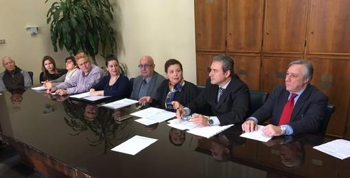 """Imperia: sottoscritto il nuovo accordo territoriale per la stipula di contratti di locazione, Camonita (Uppi) """"Giornata importante per il settore casa"""" (Foto e video)"""