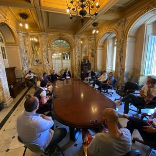 Le immagini della riunione