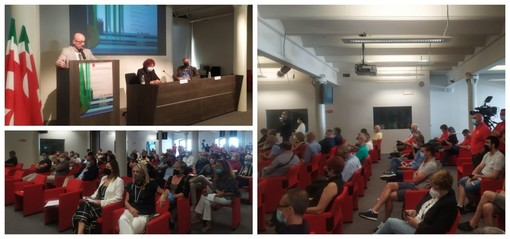 """Genova, Cingolani non convince i sindacati, Manganaro: """"Su transizione si ascoltino i lavoratori"""" (FOTO e VIDEO)"""