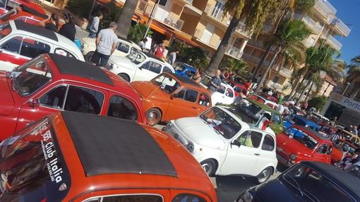 San Bartolomeo al Mare: saranno 120 le Fiat 500 al raduno di domenica 15 settembre