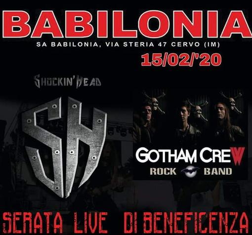 Cervo: due gruppi metal di Ventimiglia e Sanremo insieme per raccogliere fondi per la 'Giraffa a Rotelle'