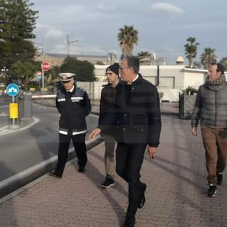 Sanremo: il Sindaco Biancheri vuole una città in ordine, ieri sopralluogo insieme ai dirigenti del Comune (Foto)