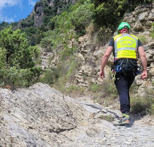 Rocchetta Nervina: uomo cade facendo canyoning, mobilitazione di soccorsi ed elicottero in arrivo