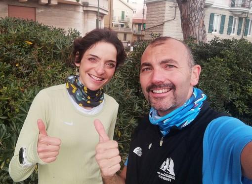 Sarah Giomi e Federico Marchi