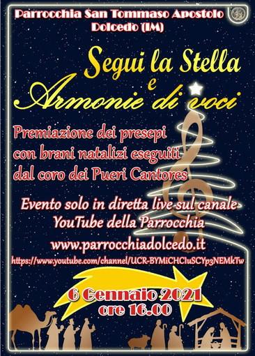 Dolcedo: domani appuntamento on line per la premiazione del concorso di Presepi 'Segui la Stella'