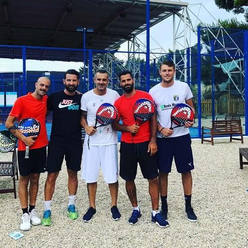 Foto dal profilo facebook di Don Quique Padel Imperia e FC Cervo