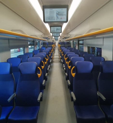 Il disinfettante 'Amuchina' sale anche a bordo dei treni regionali di Trenitalia in Liguria