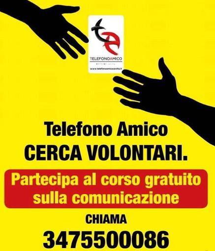 Imperia: serie di corsi per volontari nel mese di novembre organizzati dal 'Telefono Amico'