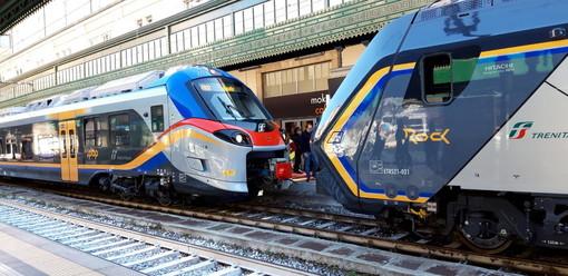 Trenitalia: da oggi sono 15 i nuovi treni regionali in Liguria, continua l'impegno in questo momento difficile