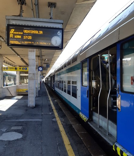 Genova - Ventimiglia: dopo l'investimento mortale a Borgio Verezzi è ripresa la circolazione ferroviaria