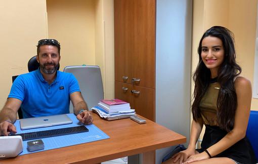 Andrea Ventura e Ilaria Salerno