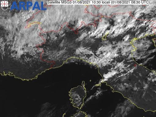 Maltempo: Arpal conferma la chiusura alle 15 dell'allerta gialla per temporali sul centro e sul levante della Liguria