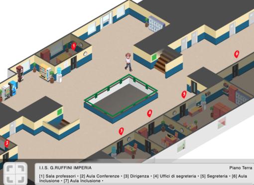 Scuola e Covid, l'Istituto Ruffini di Imperia fa orientamento con un videogame