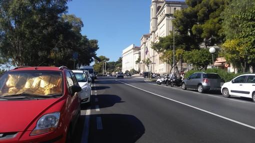 """Imperia: più spazi per le auto e stop ai camper in viale Matteotti, Gagliano """"Vogliamo tenere il centro città più controllato"""""""