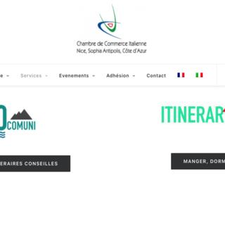 Aiutare il turismo oltreconfine: la Camera di Commercio di Nizza e della Costa Azzurra lancia ItinerariItaliani