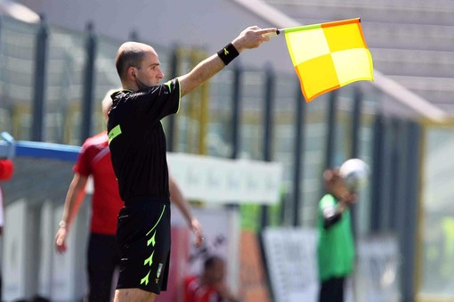 L'assistente Stefano Alassio è il secondo arbitro internazionale della sezione di Imperia
