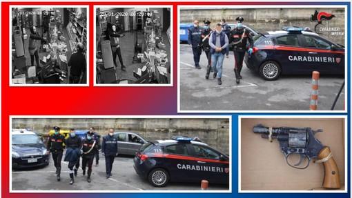 Arrestati a Sanremo i due che avevano messo a segno una rapina ai danni della tabaccheria di Cipressa