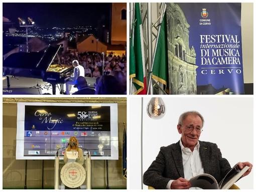 """Cervo: 58ª edizione del Festival di musica da camera, Cha """"Il fiore all'occhiello della nostra estate"""" (Foto e Video)"""