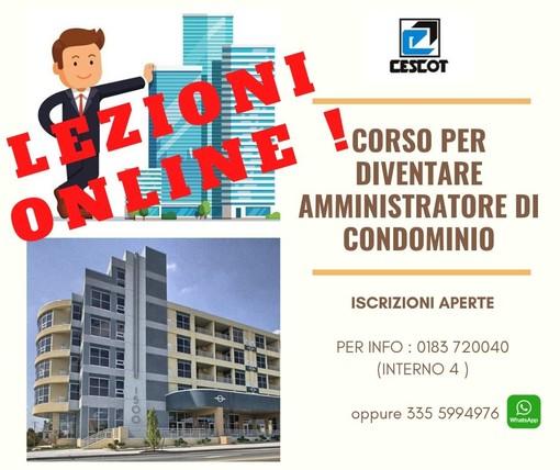 Corso inline di CESCOT Confesercenti per diventare amministratore di condominio