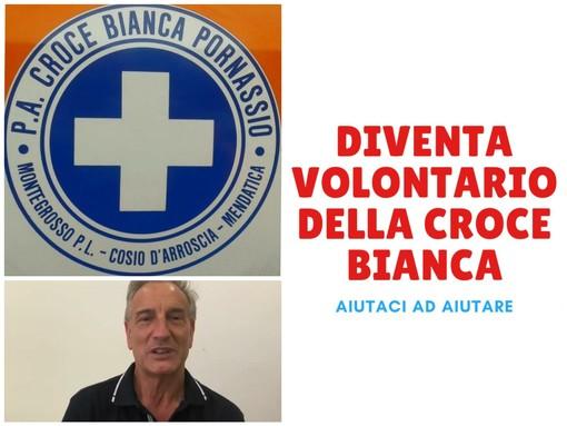"""Pornassio, l'appello del presidente della Croce bianca Gaggero: """"Servono volontari altrimenti rischiamo la chiusura"""" (Video)"""