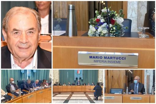 """Imperia, in Consiglio comunale il ricordo di Mario Martucci: """"Era un combattente, sempre pronto ad aiutare gli altri"""" (foto)"""