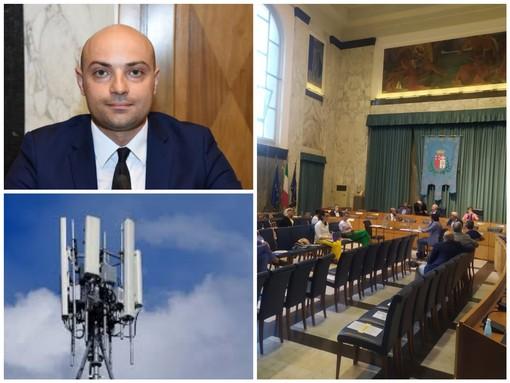Imperia: installazione di antenne e ripetitori telefonici, il consigliere Davide La Monica presenta una question time