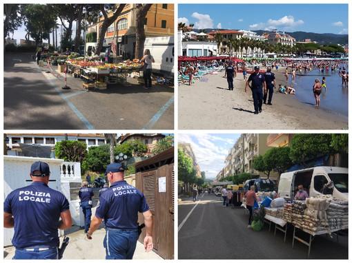 Diano Marina, borseggiatori in azione al mercato, clienti derubati con il metodo dell'asciugamano: la polizia locale intensifica i controlli