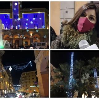 """Imperia, la speranza di vivere un Natale sereno in vista del nuovo Dpcm. L'assessore Gandolfo: """"La città andava 'accesa' per un ritorno prudente alla normalità"""" (Video)"""