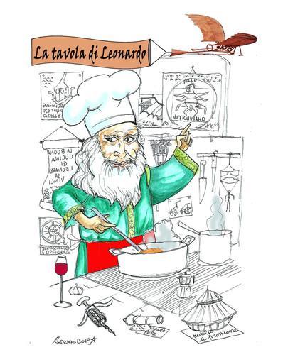 La tavola di Leonardo: un genio in cucina. Cena esclusiva il 22 febbraio a Torino. Prenotazioni aperte!