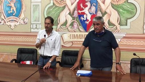 """Diano Marina, Chiappori """"incorona"""" Za Garibaldi come suo successore. Il vice sindaco, però frena l'entusiasmo: """"Ora è prematuro pensarci"""""""